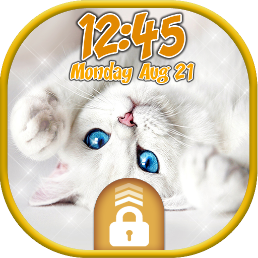 Kitty Cat Lock Screen ? Kitten Screensavers (app)