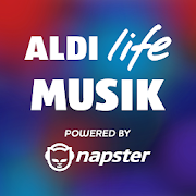 ALDI life Musik powered by Napster