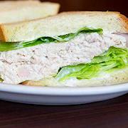 Tuna on Egg Bread (Half Sandwich)