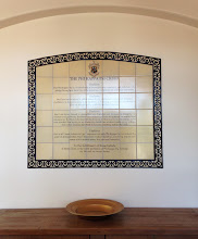 Photo: Malibu Tile Works - UCLA - Phi Kappa Psi Creed Mural - West Los Angeles, CA