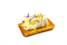 Tostada de queso brie