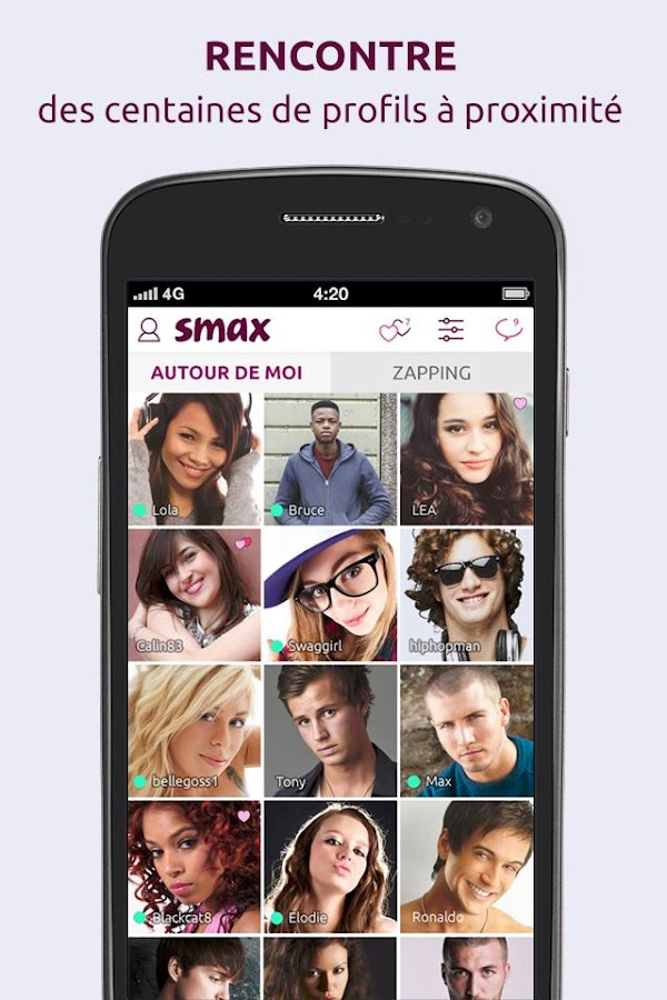 Smax – Capture d'écran