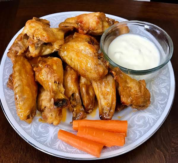 Nor's Baked Hot Wings Recipe