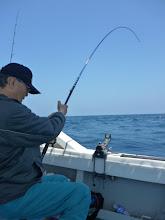 """Photo: お昼2時に、お魚のスイッチON! ・・・やっと、""""ジアイ""""がきたー!"""