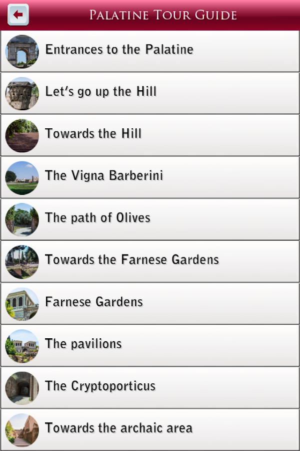 Palatine Tour Guide- screenshot