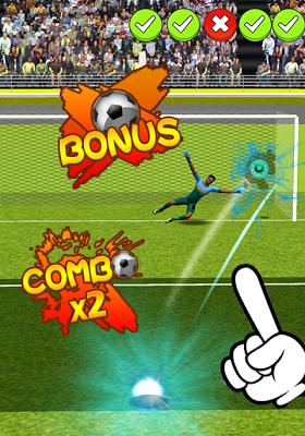 2014 Penalty World Cup - screenshot