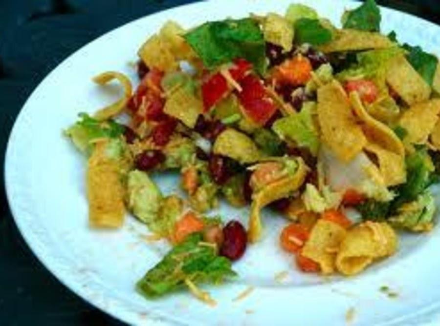 Frito And Bean Salad Recipe Just A Pinch Recipes