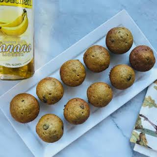 Delicious Banana Liqueur Muffins.