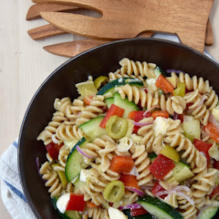 Cold Italian Pasta Salad.