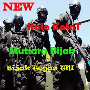 Kata Kata Mutiara Bijak Tegas TNI - náhled