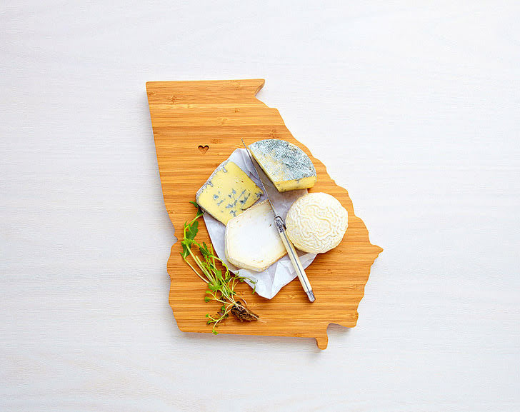 State Cutting Boards (5 Unique Five Year Anniversary Gift Ideas).
