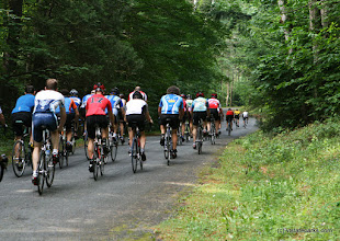 Photo: Bike race at Mt. Ascutney State Park by Sharon McQuarrie-Krampitz