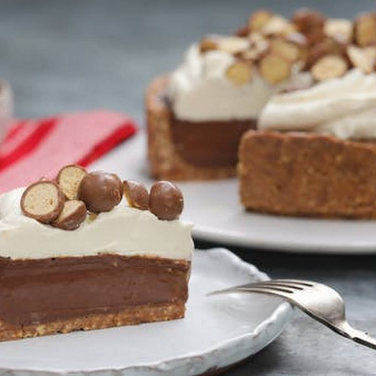 Deep Dish Malteser Pie