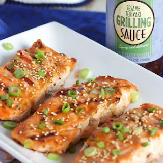 Grilled Teriyaki Salmon Recipe