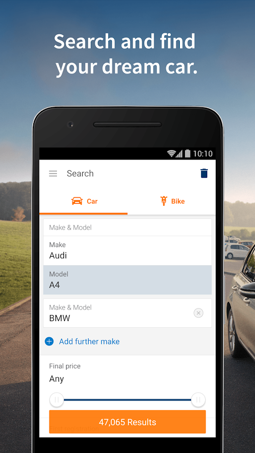 AutoScout24 - used car finder- screenshot