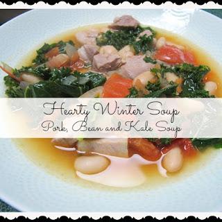 Pork Bean and Kale Soup.