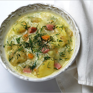 Potato, Parsnip and Carrot Soup