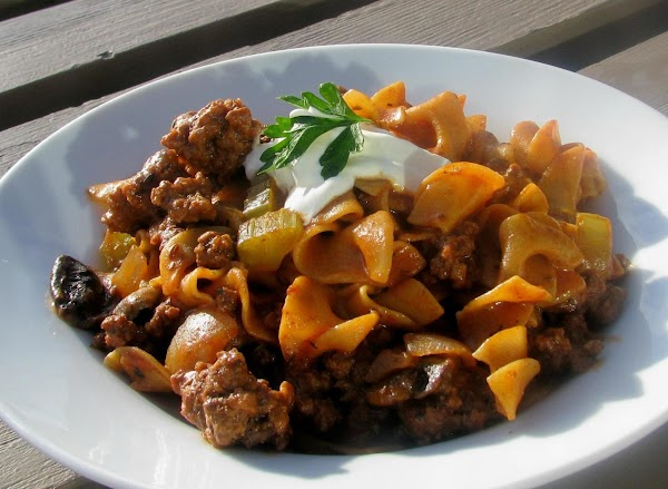 Beef And Noodle Paprikash Recipe