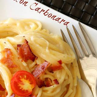 Bacon Carbonara.