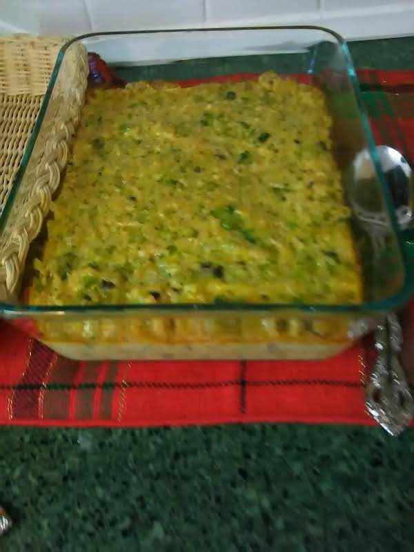 Mother's Broccoli And Rice Casserole