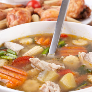Gourmet Chicken Soup