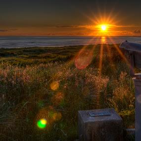 Longing by Scott Wood - Landscapes Sunsets & Sunrises ( washington, westport, ocean, beach, coast )