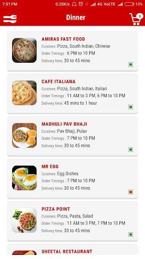 OHHO - Food Delivery Service in Amreli screenshots 2