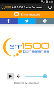 AM 1500 Radio Bonaerense- screenshot thumbnail