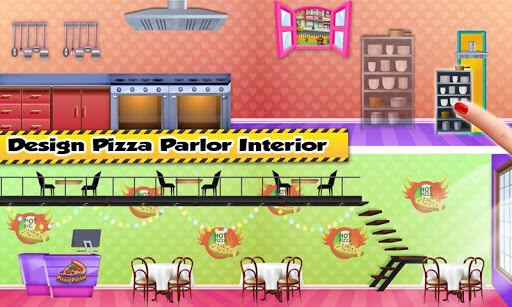 Build A Pizza Parlor: Bakery Construction Builder apktram screenshots 4