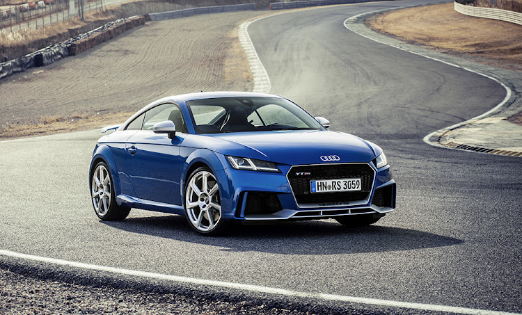 The Audi TT RS Coupé