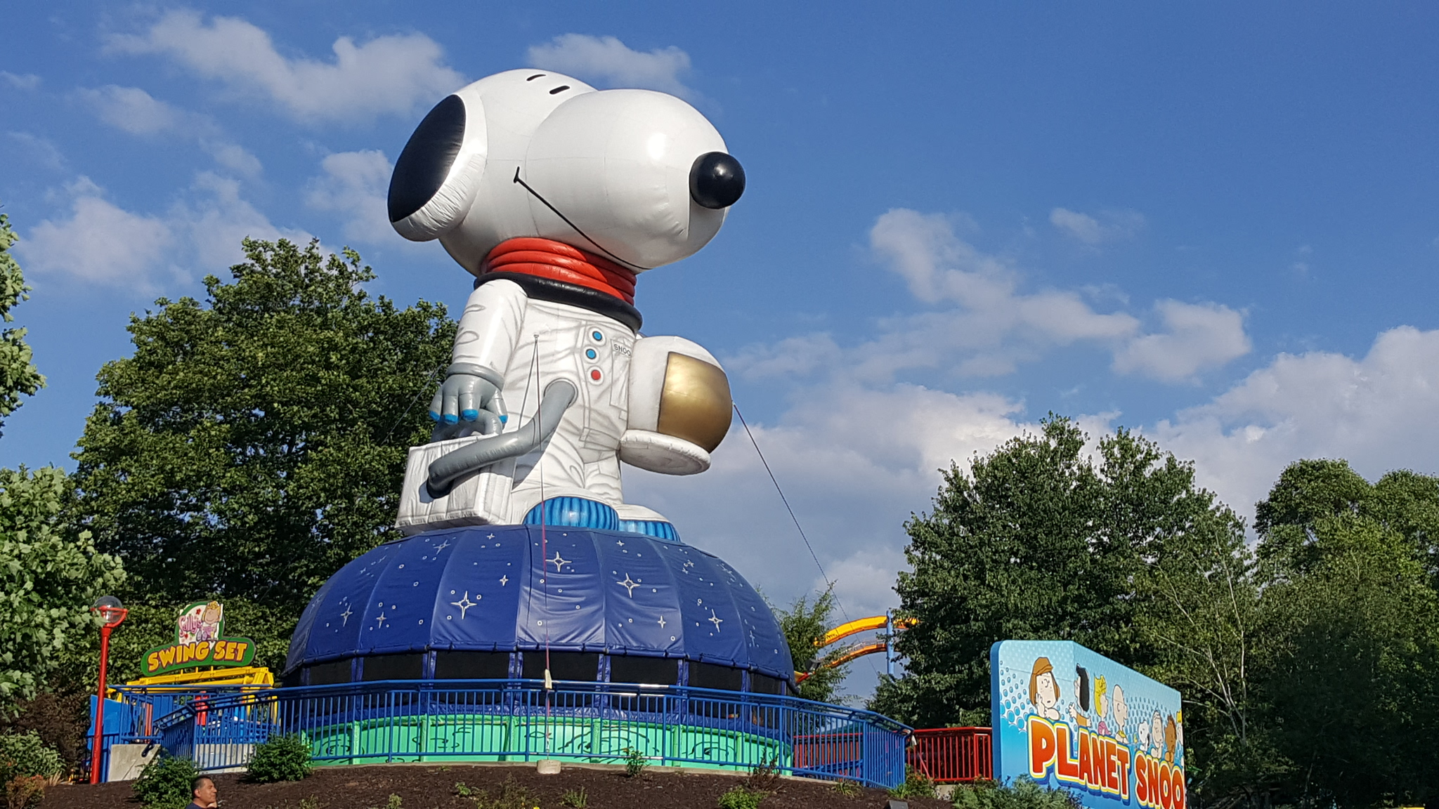 Photo: Planet Snoopy is a theme park just for kids! Located in the middle of Dorney Park