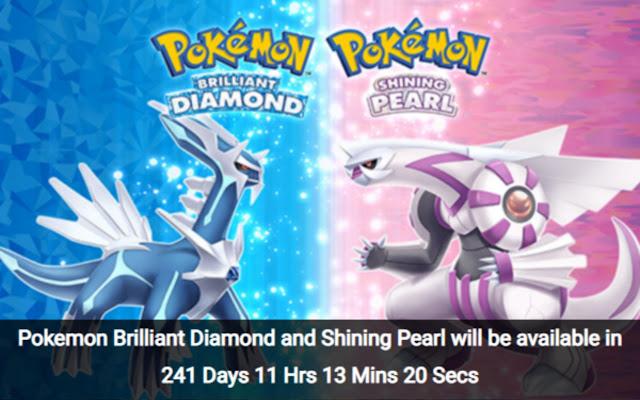 Pokemon Countdown Timer