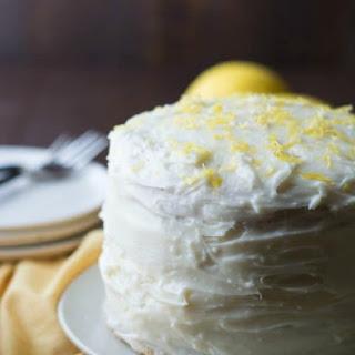 Gluten Free Lemon Layer Cake.