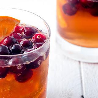 Skinny Cranberry Cocktails (or Mocktails).