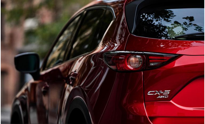 red 2020 Mazda CX-5 parked
