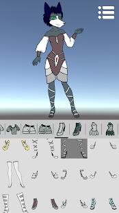 Avatar Maker: Furry - náhled