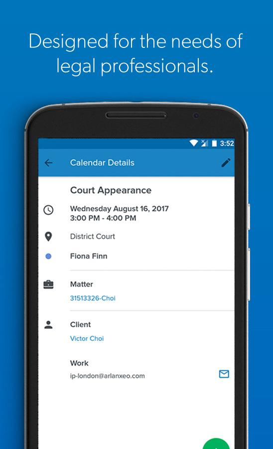Clio- screenshot