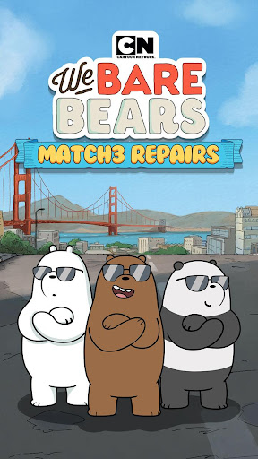 We Bare Bears Match3 Repairs 1.1.7 gameplay | by HackJr.Pw 10