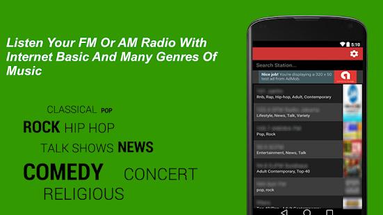 Radio USA Live FM Station   USA Radios - náhled