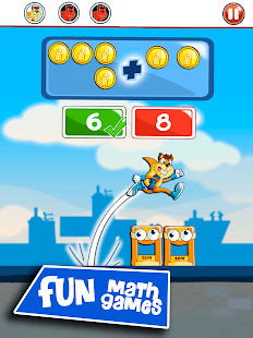 Math Games: Addition, numbers- screenshot thumbnail