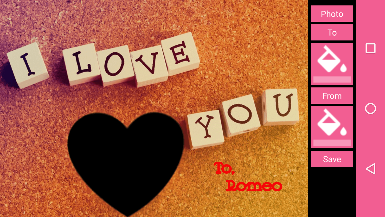 Download I LOVE YOU Photo Frames NEW HD App for android