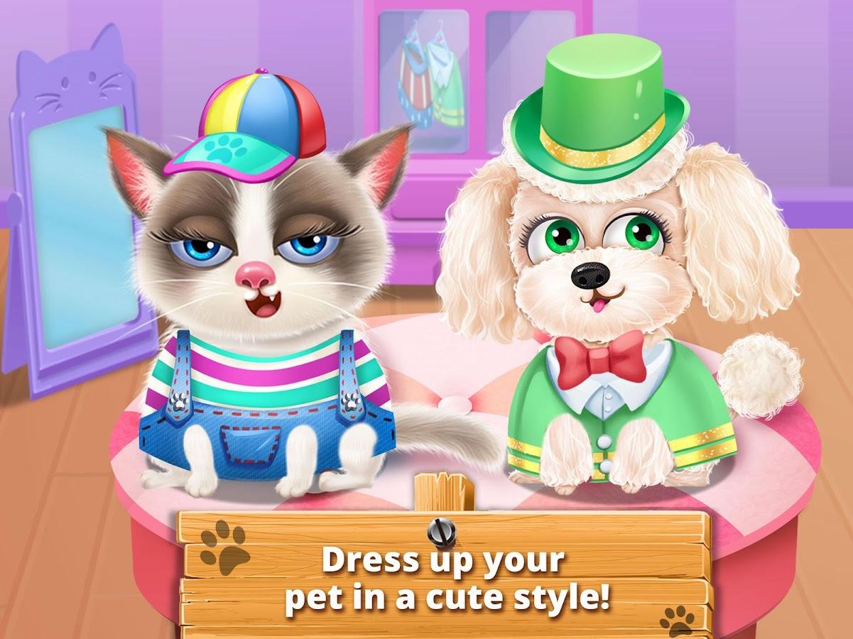 Dress up your pet game - Little Pet Vet Doctor Care Screenshot