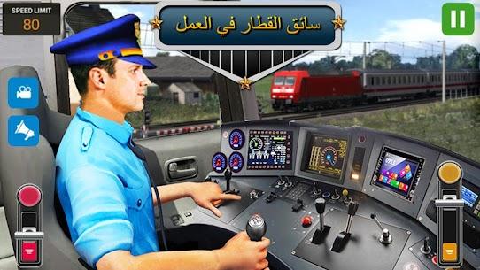 مدينة قطار سائق محاكاة 2019 حر قطار ألعاب 6