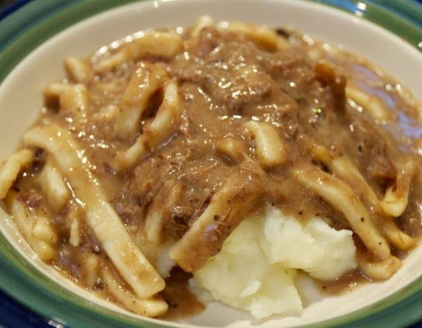 Ellen's From-scratch Beef And Noodles Recipe