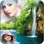 Waterfall Multi Photo Frame Apk