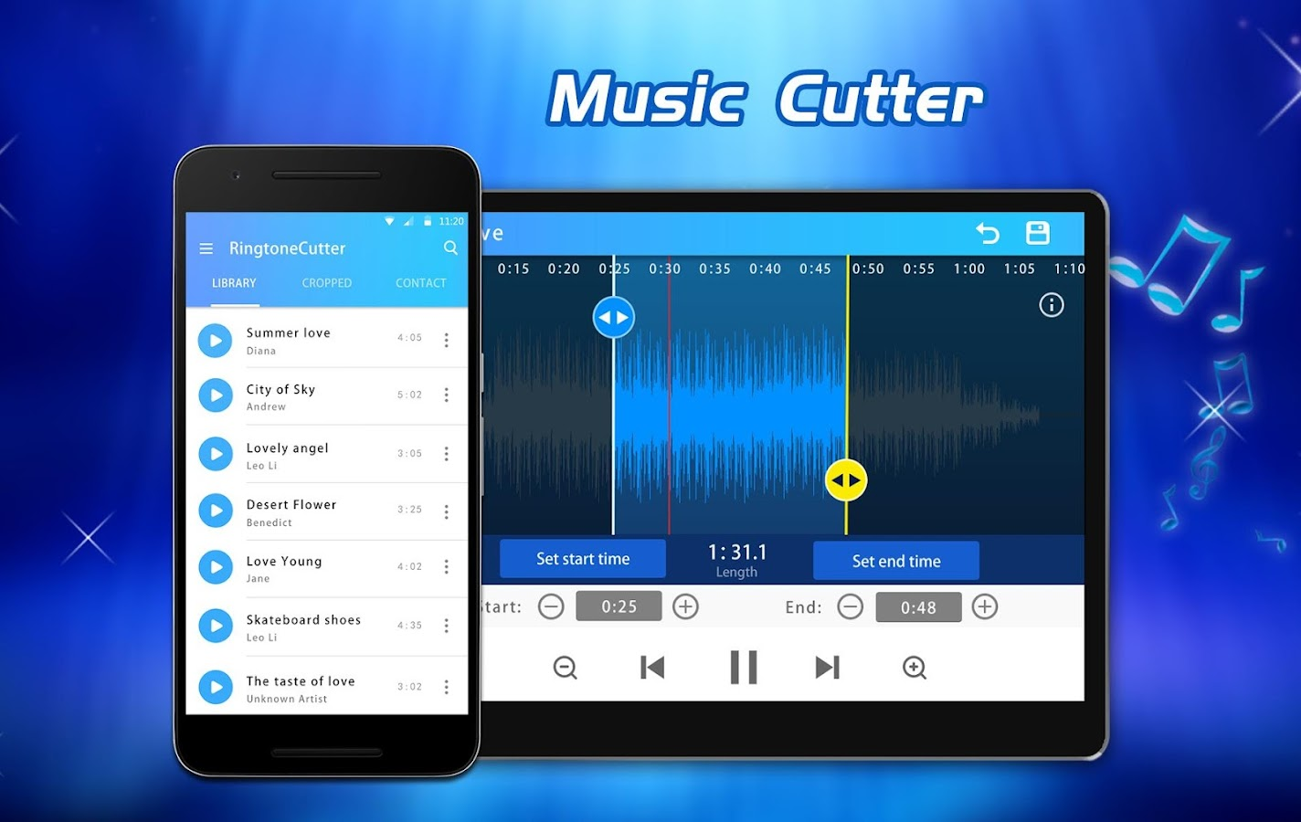 MP3 Cutter and Ringtone Maker 2.1 APK