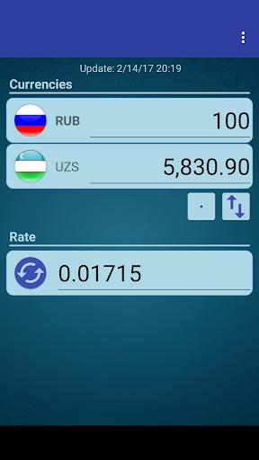 Rus Ruble X Uzbekistani Sum Apk