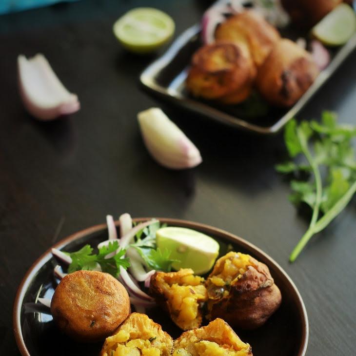 Batata Vada Recipe-How to make Batata Vada-Mumbai Batata Vada Recipe ...