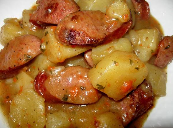 Savory Smoked Sausage And Potatoes Recipe