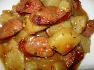 Savory Smoked Sausage and Potatoes